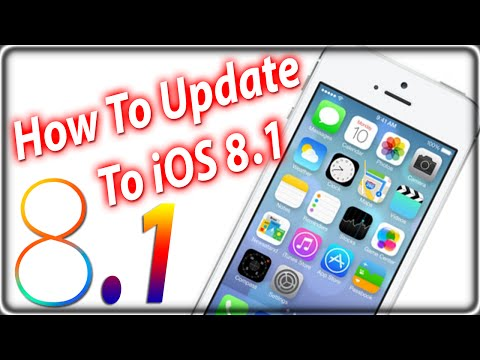 How To Update and Install iOS 8.1 iPhone, iPad, iPod Touch Via The Air and iTunes