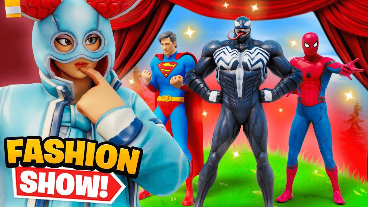 SUPERHERO Fashion Show (WINNER = $1000)