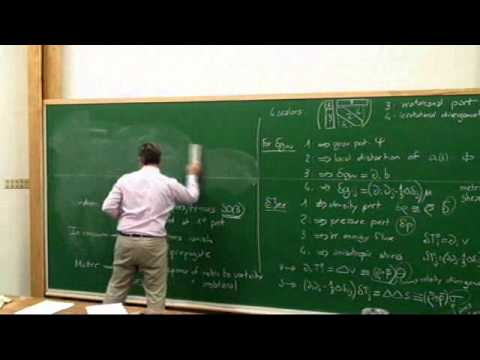 Linear Cosmological Perturbation Theory I