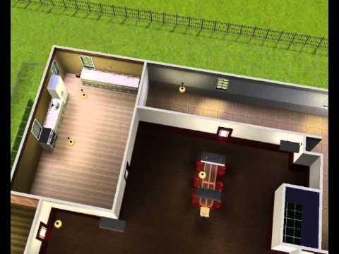 Building California House - The Sims 3