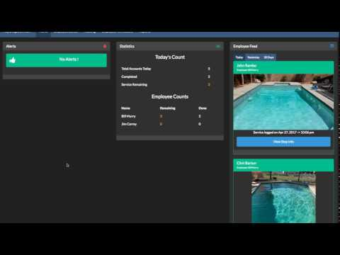 How to see what pools your employee has completed and not finished for the day using Paythepoolman