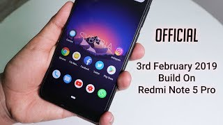 Most Dope Android Pie Rom For Redmi Note 5 Pro || SyberiaOS By