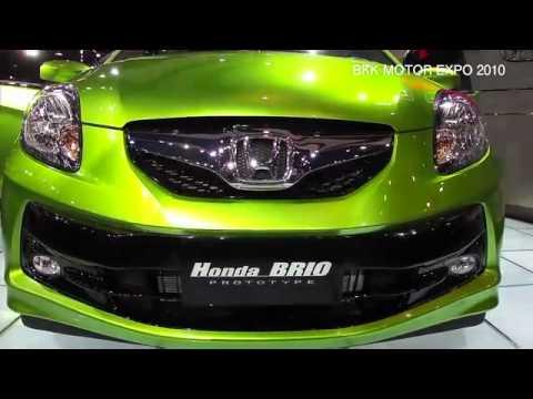 HONDA BRIO 『BKK MOTOR EXPO 2010』 - YouTube