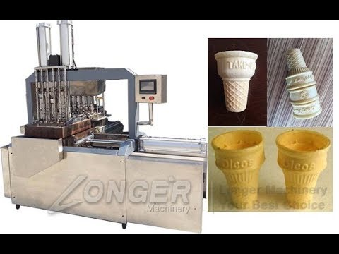 Ice Cream Cone Biscuit Machine|Equipment For Making Ice Wafer Cones