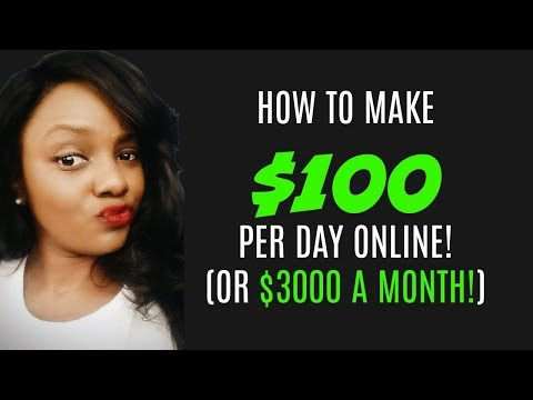 How to Make $100 a Day with Zero Skills! Part 1