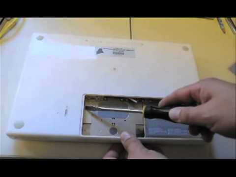 How to remove hard drive from MacBook
