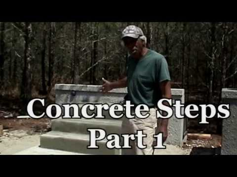 How To Build Concrete Block Steps (Video Tutorial)