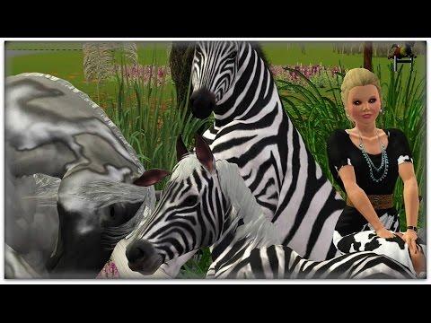 Crimson Clover's birth - Sims 3 Horse Breeding machinima