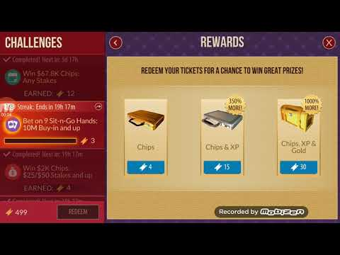 ZYNGA POKER 100MIL CHIPS WIN,XP,GOLD WIN,500CHALLENGES