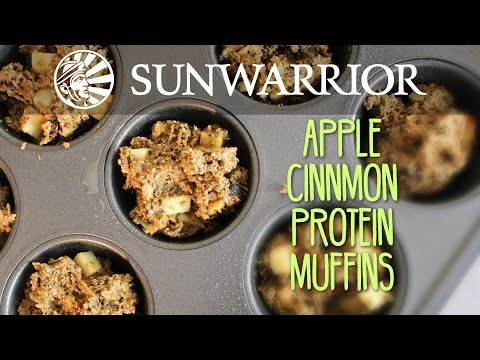 Apple Pie Protein Muffins | Party in My Plants
