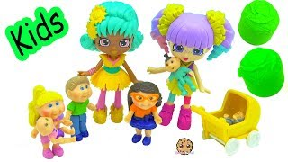 Shopkins Happy Places Rainbow Kate Babysits Toddler Kids & Babies + Surprise Blind Bags
