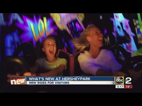 Hershey Park's newest coaster is pretty awesome looking