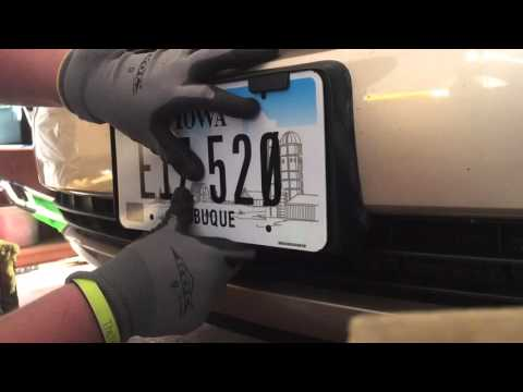 Update how to change your license plate