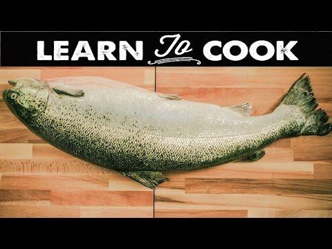 Whole Salmon Butchery
