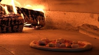 Neapolitan Pizza Margherita - Wood Fired Pizza