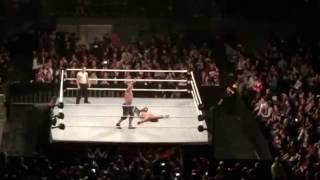 WWE Live Melbourne Australia John Cena vs AJ Styles, Chris Jericho, Balor, Rollins, Reigns