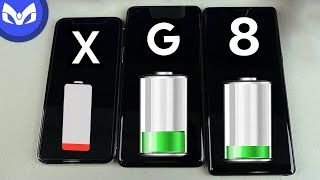 iPhone X vs Note 8 REAL PRUEBA BATERIA Bonus Pixel XL 2