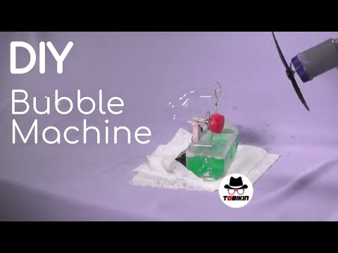 How to Make Bubble Maker Machine with Motor