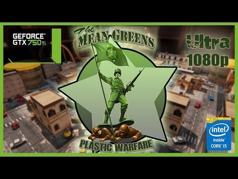 The Mean Greens Plastic Warfare GTX 750 Ti - i5 6500 - 8GB RAM - 1080p