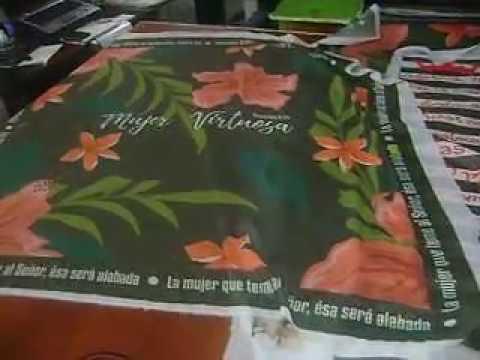 Pañoletas Sublimadas Extra Grandes, Sublitech Sublimacion Medellin