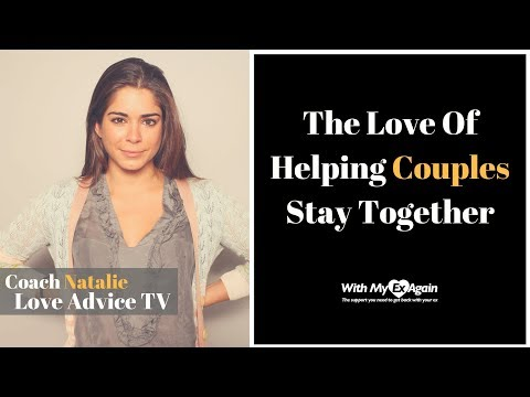 Coach Natalie Love Advice TV: The Love Of Helping People Stay Together