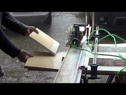 Guide Rail - Easy Cut Melamine, Home made Track Saw