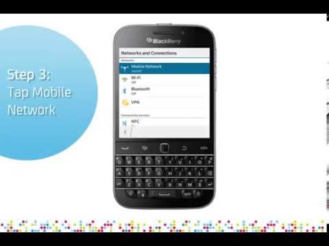 BlackBerry Classic: Turn on/off data services