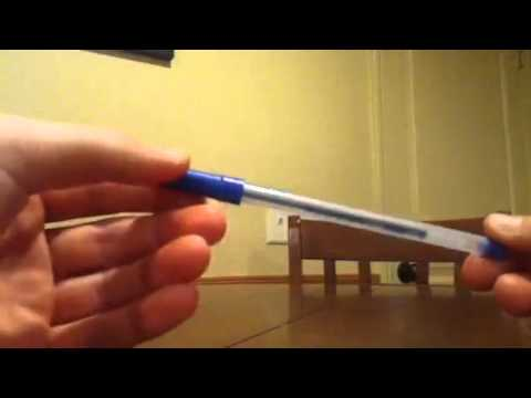 How to make a hidden blade out of a pen