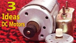 3 Awesome & Useful Ideas with DC Motors - Compilation - DIY Homemade useful machines with dc motors