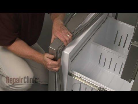 Whirlpool Refrigerator Freezer Replace Drawer Gasket W10714545