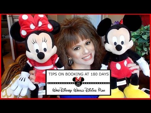 DISNEY BOOKING | 180 DAY DINING RESERVATION TIPS