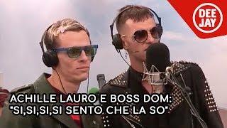 Achille Lauro e Boss Dom ospiti a Pinocchio