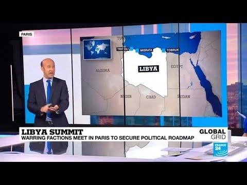 Doubts cloud start of Libya peace talks in Paris