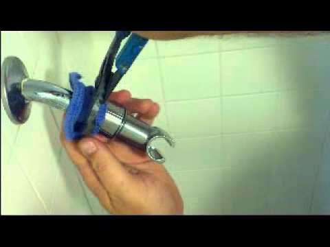 Hand Held Shower Head -installation