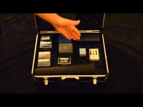 How to make a Custom MTG Deck Box Case
