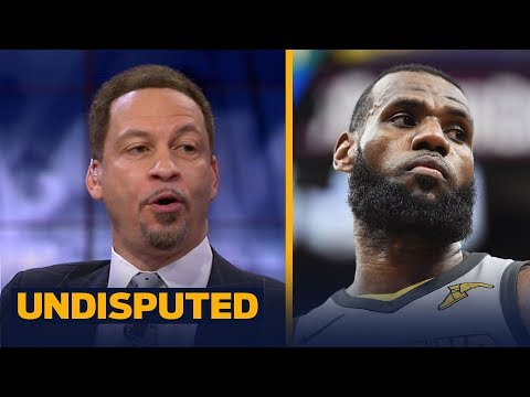 Chris Broussard 'brings the facts' after LeBron's latest record | UNDISPUTED