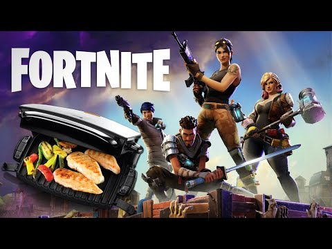 FOREMAN FORTNITE FRIDAY - GAMING & GRILLING AT THE SAME TIME (Fortnite Gameplay)