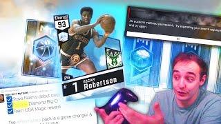 NBA 2K17 My Team WHERE IS DIAMOND OSCAR ROBERTSON! WTF MAN! BEWARE!