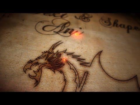 Burnt wood text effects and image animation - After Effects tutorial
