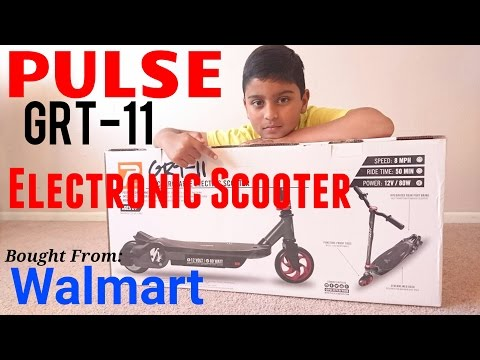 Pulse Electric Scooter unboxing / Assemble / Demo