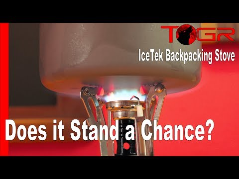 Inexpensive Option - IceTek Backpacking Stove - Speed Test #3 - Versus
