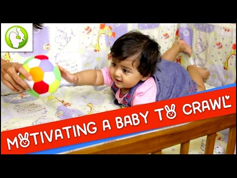 Motivating A Baby To Crawl