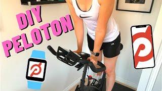 DIY Peloton Bike - Wahoo Cadence / Apple Watch / iPhone / Schwinn IC7 Bike - Save £££
