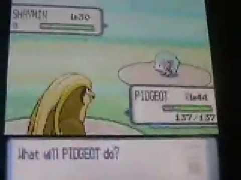pokemon pearl how to get shaymin and heatran