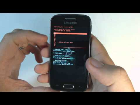 Samsung Galaxy Ace 2 I8160 hard reset