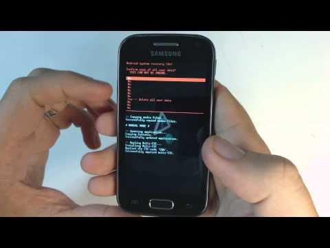 Samsung Galaxy Ace 2 I8160 hard reset