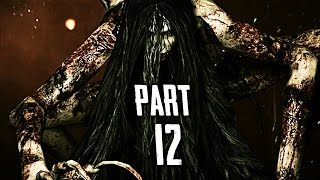 The Evil Within Walkthrough Gameplay Part 12 - Spider Woman Boss (PS4)