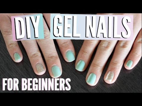 Gel Nail Polish for Beginners Tutorial | TutorialsByA