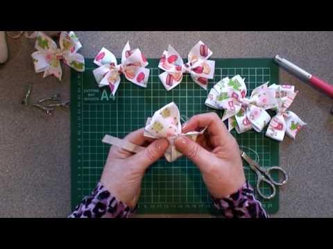Crafty Ribbons - Hair Bows