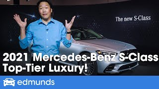 2021 Mercedes-Benz S-Class First Look ― New S-Class Luxury Sedan Redesign! ― Price, Interior & More